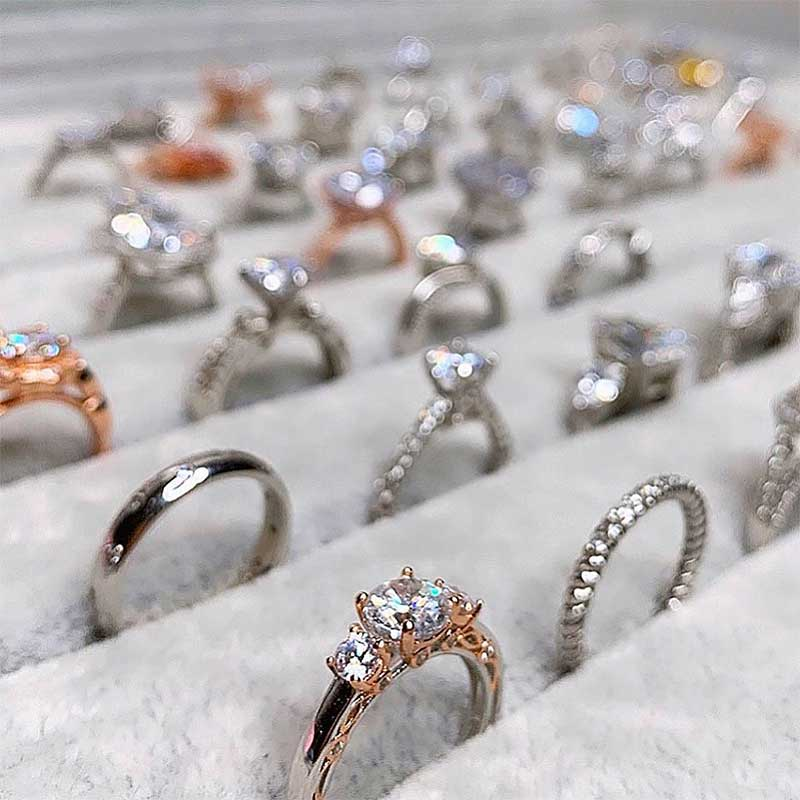 sterling silver rings supplier