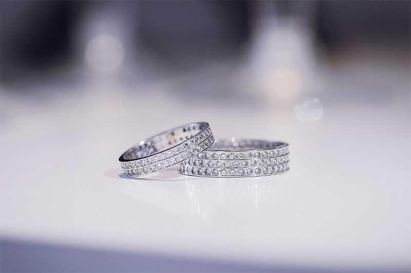 Ring Setting Technique for diamond ring settings