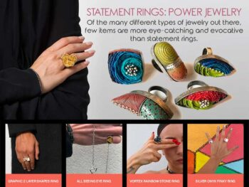 Statement Rings: Power Jewellery